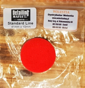 Detailing  Mafia / Pad Polerski 41mm Red Finish